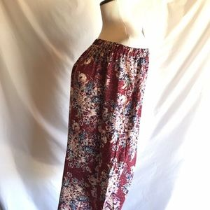 love, Fire Dresses - NWT Love Fire Off The Shoulder Floral Long Sleeved